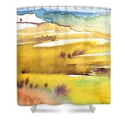 Midday 16 Shower Curtain