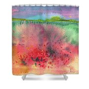 Midday 18 Shower Curtain