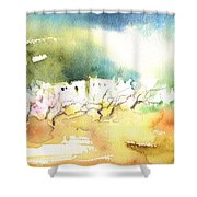 Midday 20 Shower Curtain