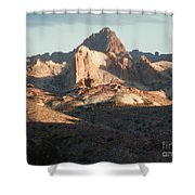 Midday Groove Shower Curtain