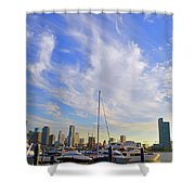 Midday In Miami Shower Curtain