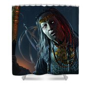 Middle-earth Shadow Of Mordor Shower Curtain
