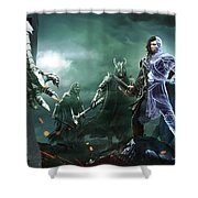 Middle-earth Shadow Of War Shower Curtain