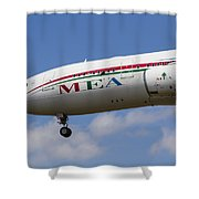 Middle Eastern Airlines Airbus A330 Shower Curtain