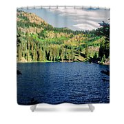 Middle Fork Lake Shower Curtain