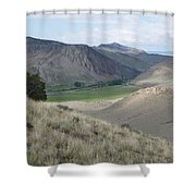 Middle Ground Shower Curtain