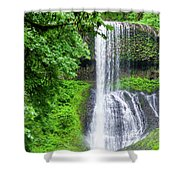 Middle North Falls 2 Shower Curtain