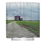 Middle Of Nowhere 4 Shower Curtain