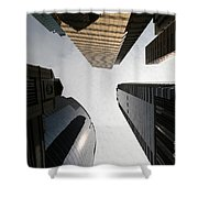 Middle Of The City Shower Curtain