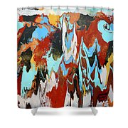 Middle Of The Day Shower Curtain
