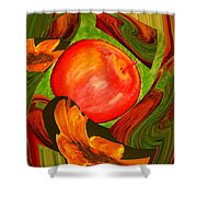 Middle Of The Garden Shower Curtain