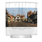 Middle Row East Grinstead Shower Curtain