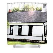 Middlebass Island School Shower Curtain