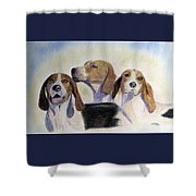 Middleburg Hounds Shower Curtain
