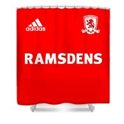 Middlesbrough F.c. Shower Curtain
