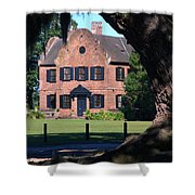 Middleton Place Plantation House Shower Curtain