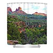 Midgley Bridge Shower Curtain