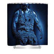 Midnight Bane Shower Curtain