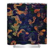 Midnight Canopy  Shower Curtain