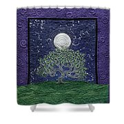 Midnight Dance Shower Curtain