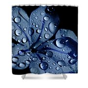 Midnight Dew Shower Curtain