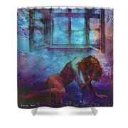Midnight Dreams  Shower Curtain