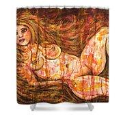 Midnight Fantasy Shower Curtain