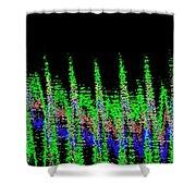 Midnight Forest Shower Curtain