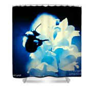 Midnight Gatherings Shower Curtain