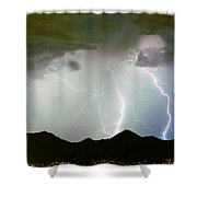 Midnight Hour Shower Curtain