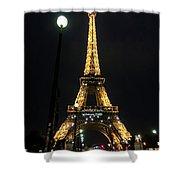 Midnight In Paris Shower Curtain