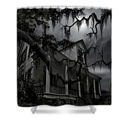 Midnight In The House Shower Curtain by James Christopher Hill