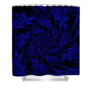Midnight Journey  Shower Curtain