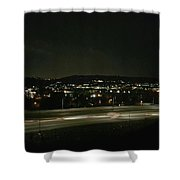 Midnight Lights Shower Curtain