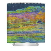 Midnight Magic Dream Shower Curtain
