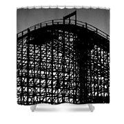 Midnight Ride Shower Curtain
