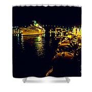 Midnight Sail Shower Curtain