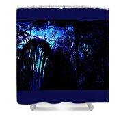 Midnight Serenity Shower Curtain