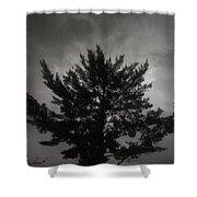 Midnight Storm Shower Curtain