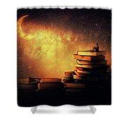 Midnight Tale Shower Curtain