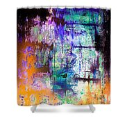 Midnight Train Goin Anywhere Shower Curtain