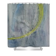 Midnight Woman Shower Curtain