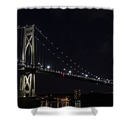 Midnite Crossing Shower Curtain