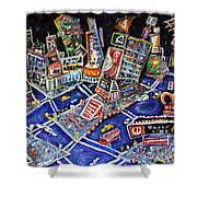 Midtown Magic Shower Curtain