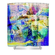 Midtown Manhattan Shower Curtain