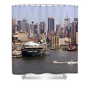 Midtown Manhattan Panorama Shower Curtain