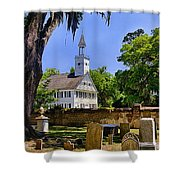 Midway Congregational Church Shower Curtain