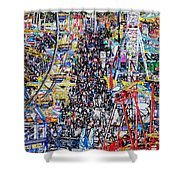 Midway Fun Shower Curtain