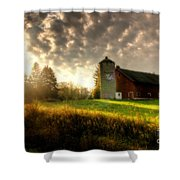 Midwest Morning Shower Curtain