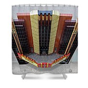 Art Deco Theater Shower Curtain